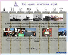 Original version of Tug Pegasus Preservation Project